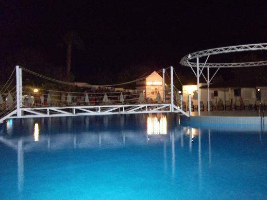 PGS Hotels Kiris Resort: Pool & Bar at Night