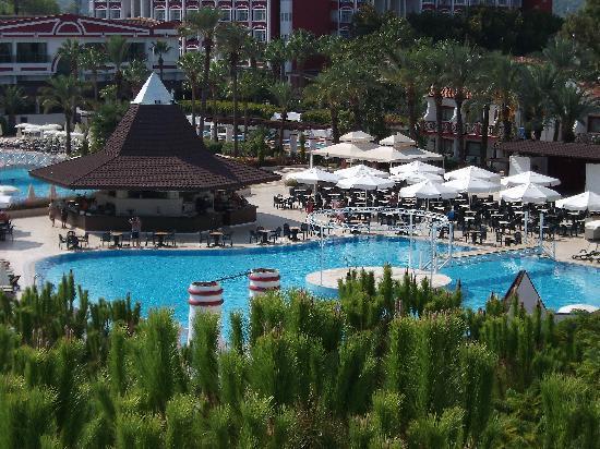PGS Kiris Resort : View from the Water Slide