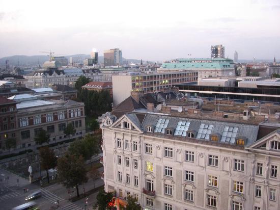 Hilton Vienna: Hilton - Aussicht