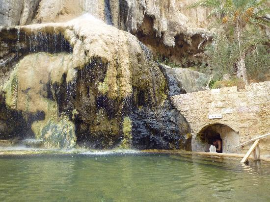 Ma'In Hot Springs: la cascade du spa