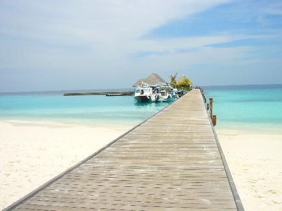 Veligandu Island Resort & Spa : Pier