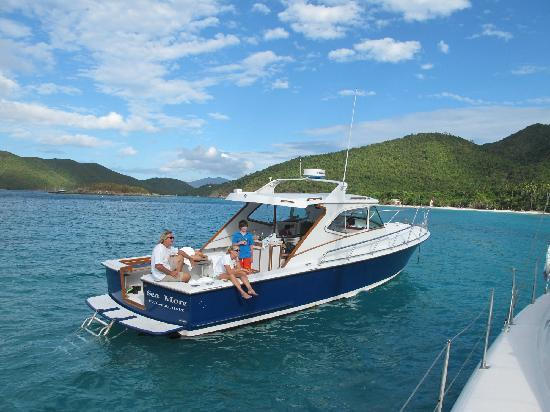 Sea More Charters - Tours: guests enjoying their day on Sea More