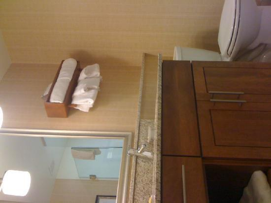 Residence Inn Fairfax City: The bathroom