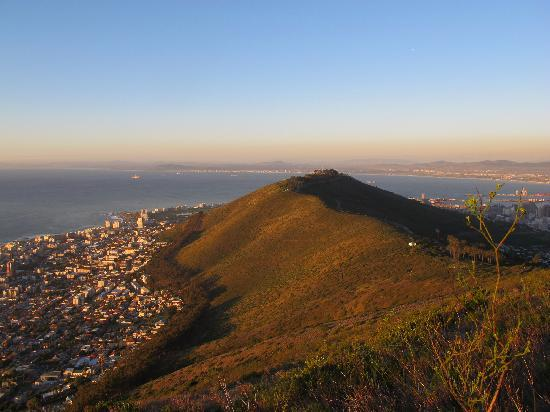 Huijs Haerlem: HH is somewhere at the bottom of Signal Hill. Don't let them persuade you not walk or run to Sig