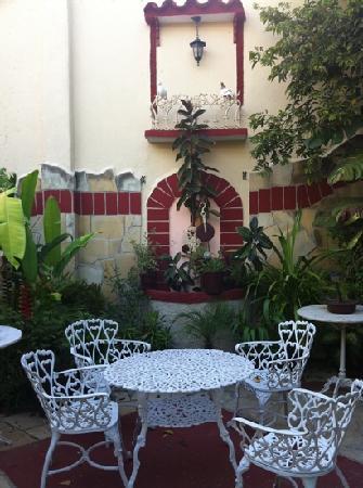 Hostal Florida Center: zona relax... un bel sigaro e via!!!