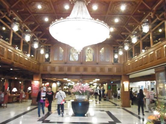 Bangkok Palace Hotel: ホテルロビー