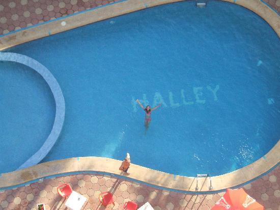 Halley Apartments: veiw from floor 10