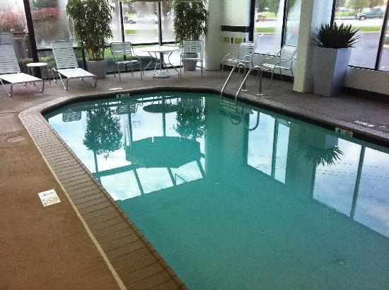 Fairfield Inn Philadelphia Exton: The new pool was beautiful!
