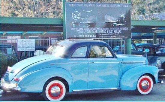 Sedgefield, Sudáfrica: A restored Classic