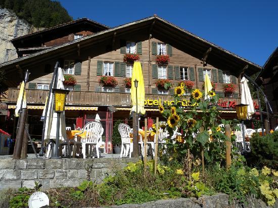 Hotel Restaurant Schutzen: Schutzen Hotel, Lauterbrunnen