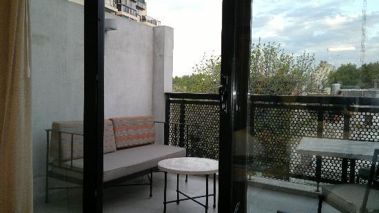 Palermitano Hotel: Varanda