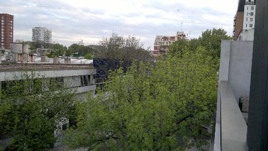 Palermitano Hotel: Vista do Apartamento
