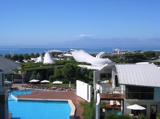 Cornelia Diamond Golf Resort & Spa: View from balcony