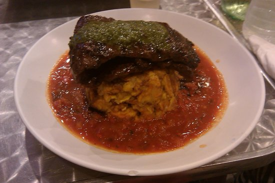 Jimmy'z Kitchen: Churrasco Mofongo