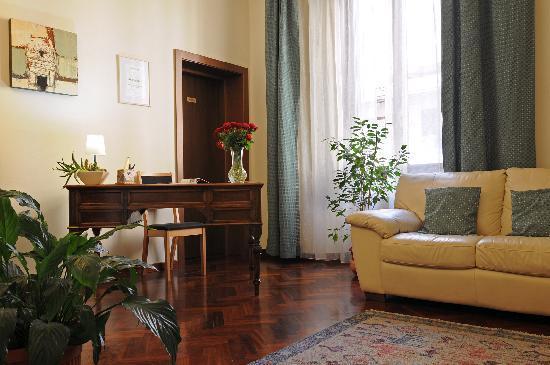 Aramis Rooms: Il soggiorno