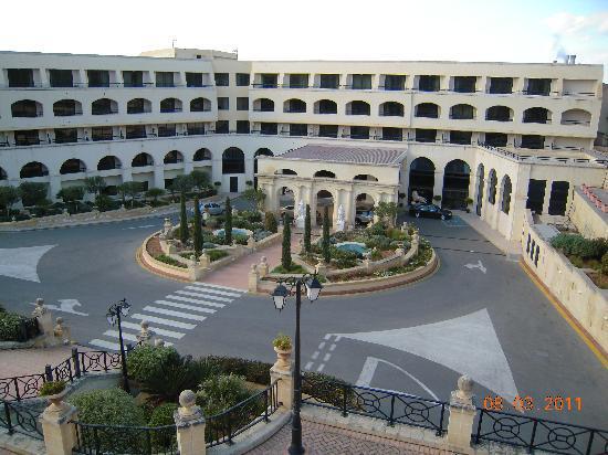 Excelsior Grand Hotel : Hotel Excelsior Landseite