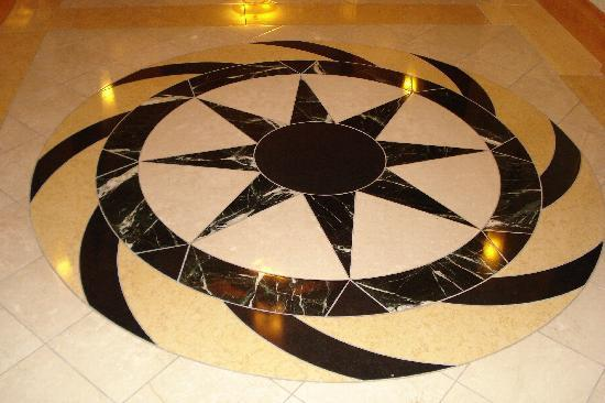 Bethesda North Marriott Hotel & Conference Center: Floor in the lobby