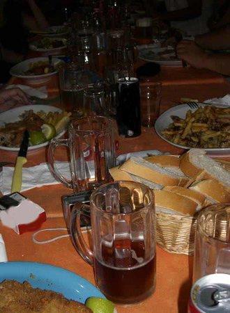 Marea: carne e patatine a volontà...
