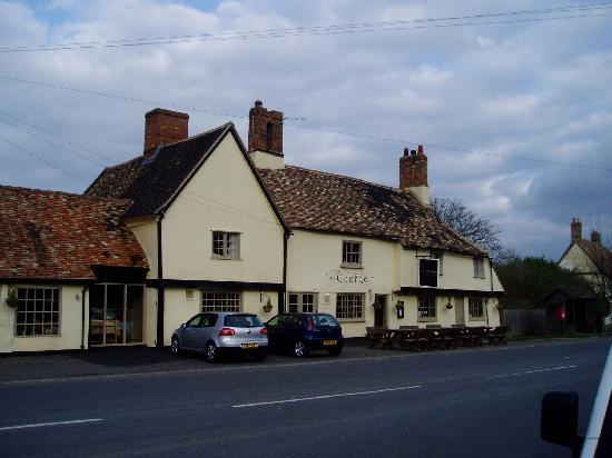 The George of Spaldwick: The George Pub and Restaurant Spaldwick Junction 18  on the A14