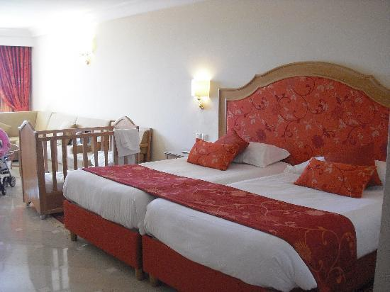 Hotel Palace Hammamet Marhaba: notre chambre