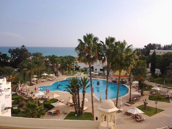 Hotel Palace Hammamet Marhaba : Ca c'est la vue du troisième étage