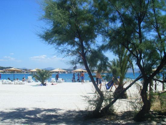 Solaris Hotel Niko: spiaggia ciottoli