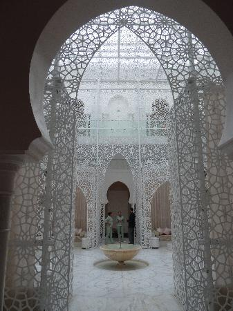 Royal Mansour Marrakech: Spa-Hallenbad