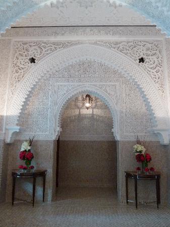 Royal Mansour Marrakech: Im Empfang
