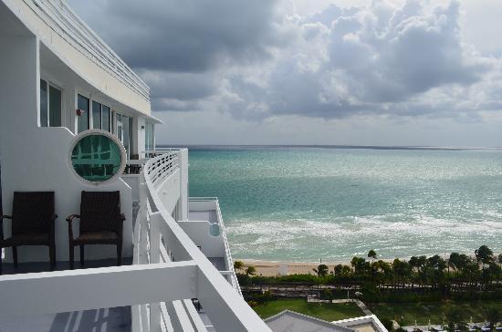 Fontainebleau Miami Beach: penthouse view
