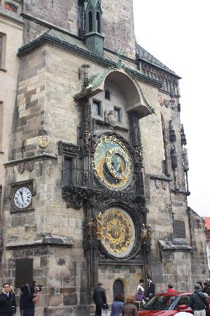 Old Town Hall with Astronomical Clock: Astronomical clock