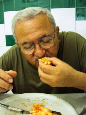 L'Antica Pizzeria da Michele: riquísima la pizza