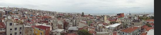 Marmaray Hotel: Panorama Bild von Istanbul aufgenommen aus dem Hotelzimmer
