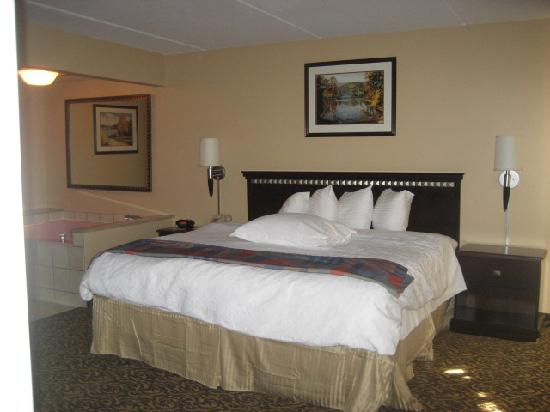 Best Western Arrowhead Lodge & Suites: King bed