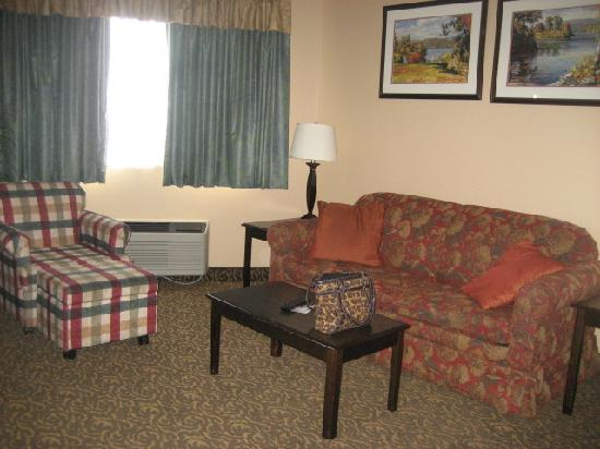 Best Western Arrowhead Lodge & Suites: Living room