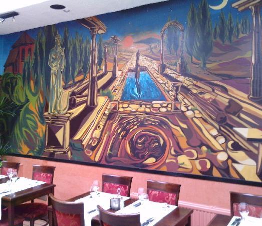 D cor mural picture of la luna brussels tripadvisor for Mural la misma luna
