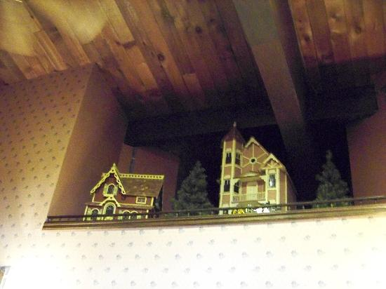 Fanny Hill: Dollhouses by ceiling decor