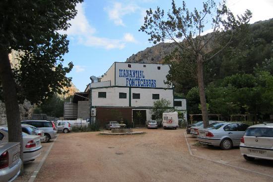 Hotel-Balneario de la Virgen: Parking