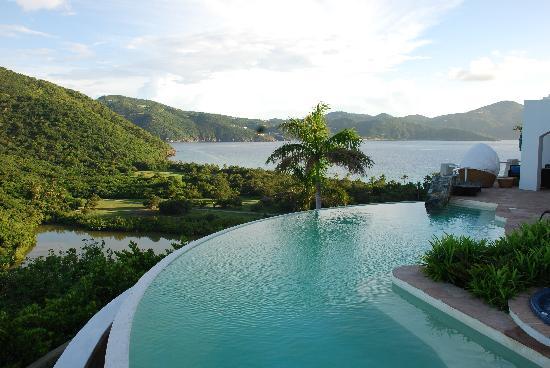 Guana Island: Jost House View