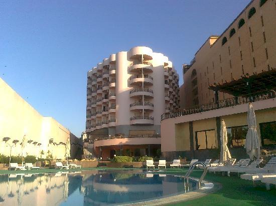 Lotus Luxor Hotel: Suite 506, top centre right, 2 balconys