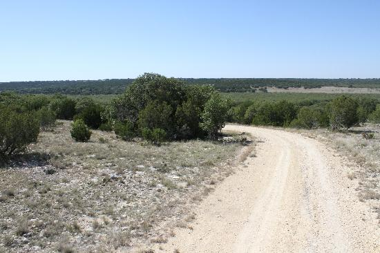 The view out on X Bar Ranch