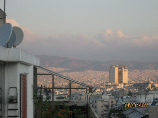 Athens Way: De la terrasse