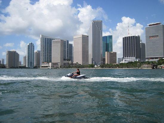 Miami Jet Ski: Downtown Miami
