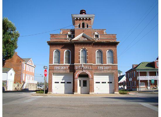 Old Hermann Fire Dept and City Hall