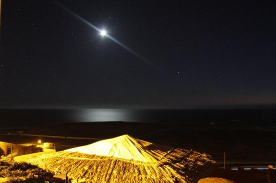 Tamraght, Marokko: vue de ma chambre au 1er