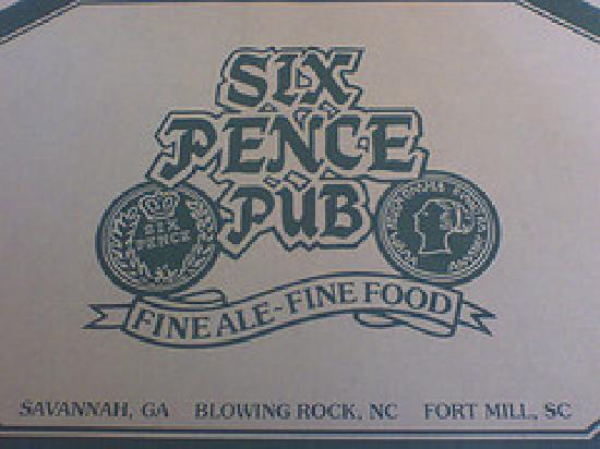 Photo of Irish Pub Six Pence Pub at 245 Bull St, Savannah, GA 31401, United States