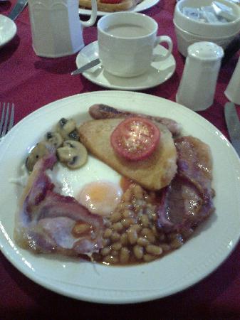The New Mayfair Hotel, Blackpool: food glorious food