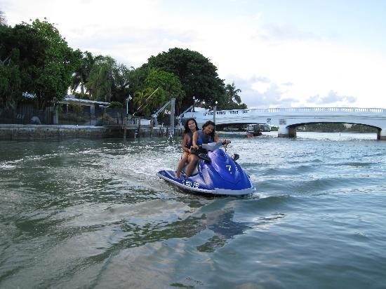Miami Jet Ski: Swim Spot