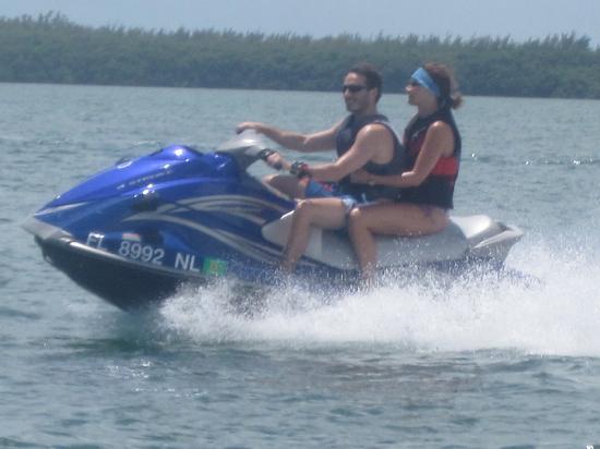 Miami Jet Ski: Hang On!!