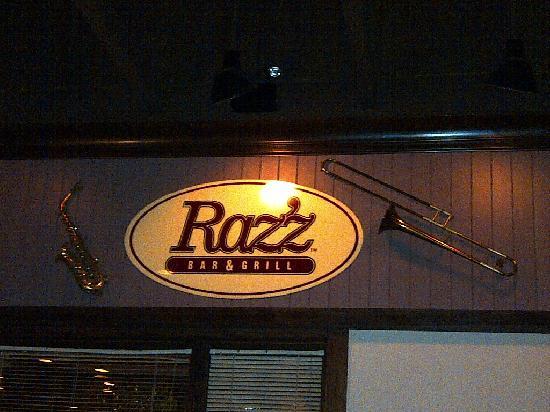 Raz'z Jazz Bar & Grill: Razz'z Bar and Grill