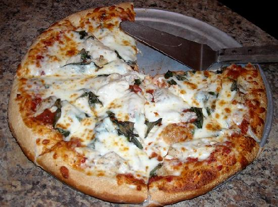 Sidestreet Pizza & Pasta : Picture of our Pizza at Sidestreet Pizza in Tryon, NC